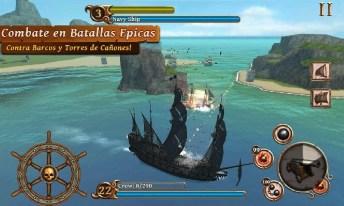 Ships of Battle Age of Pirates APK MOD imagen 1