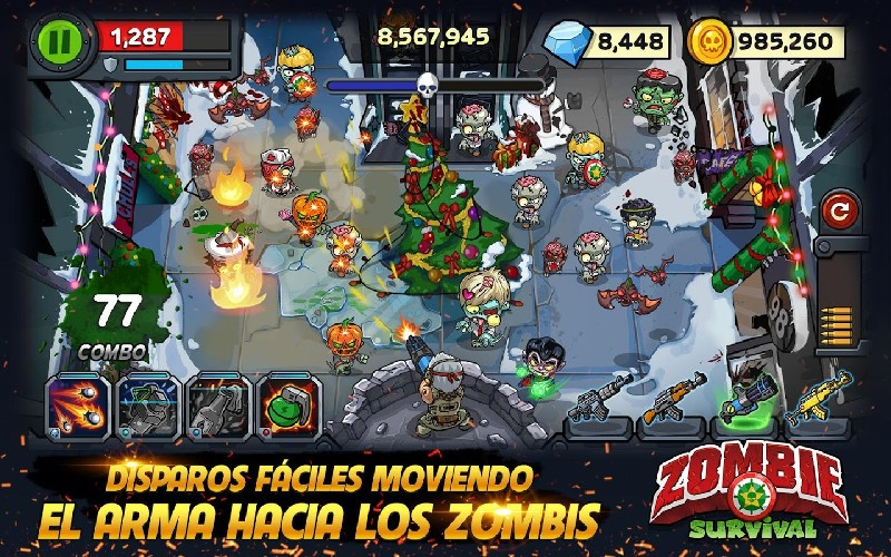 Zombie Survival Game of Dead APK MOD imagen 1