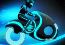 Bike Race Game Traffic Rider Of Neon City APK MOD