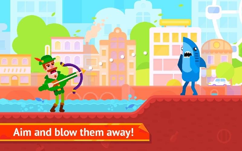Bowmasters APK MOD imagen 1
