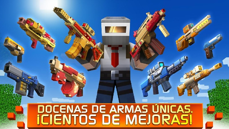 Craft Shooter Online Guns of Pixel Shooting Games APK MOD imagen 3