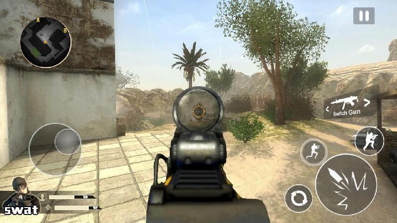 Critical Strike Shoot Fire V2 APK MOD imagen 2