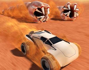 Desert Worms APK MOD