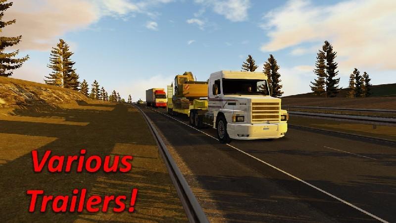Heavy Truck Simulator APK MOD imagen 3