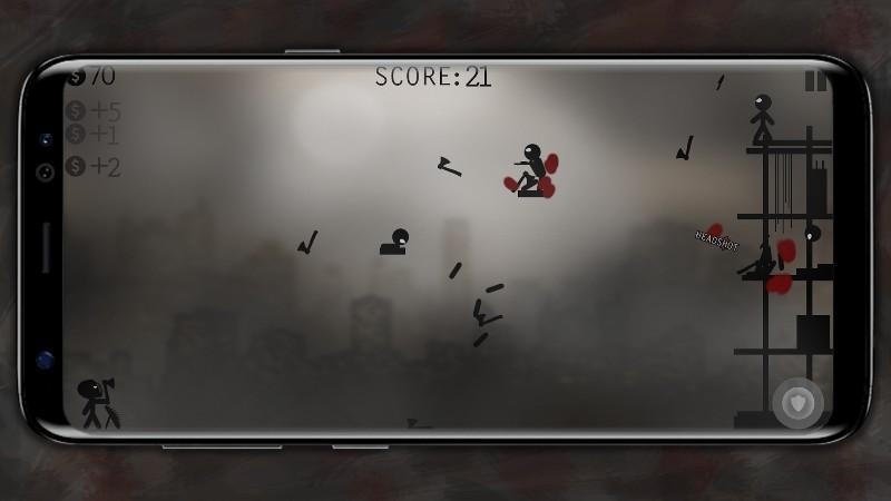 Knife Attacks - Stickman Battle APK MOD imagen 3