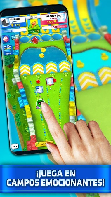 Mini Golf King - Multiplayer Game APK MOD imagen 2