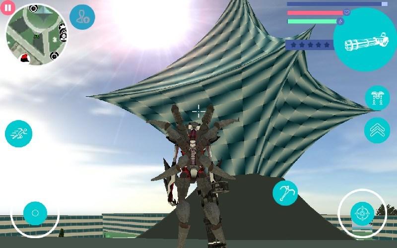 Spider Robot APK MOD imagen 4