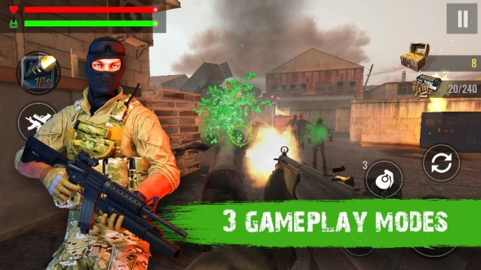 Zombie Shooter Hell 4 Survival APK MOD imagen 5