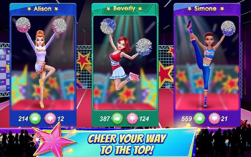 Cheerleader Dance Off - Squad of Champions APK MOD imagen 4