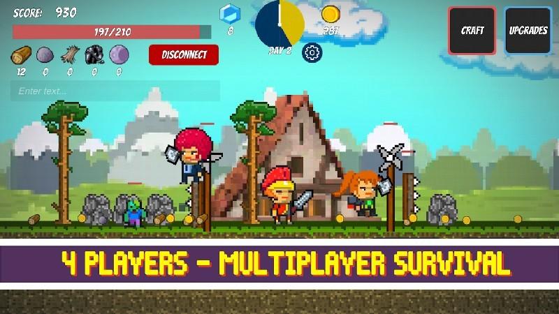 Pixel Survival Game APK MOD imagen 1