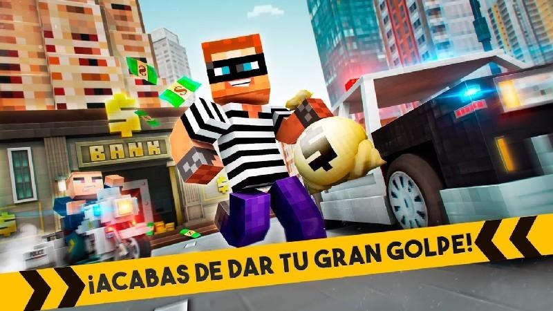 Robber Race Escape APK MOD imagen 2