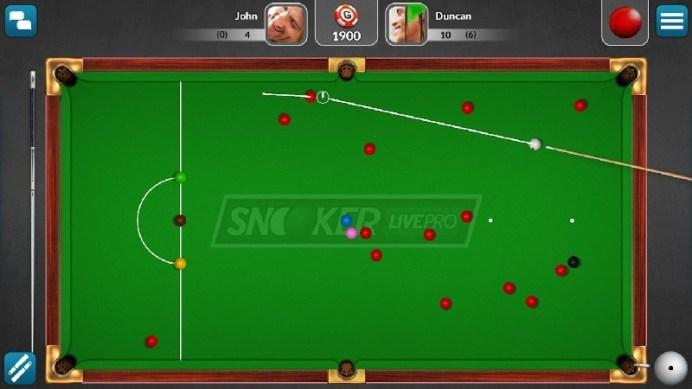 Snooker Live Pro & Six-red APK MOD imagen 5