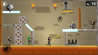 Stickman Shooter Elite Strikeforce APK MOD imagen 2