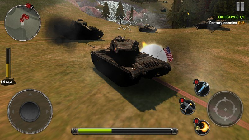 Tanks of Battle World War 2 APK MOD imagen 3