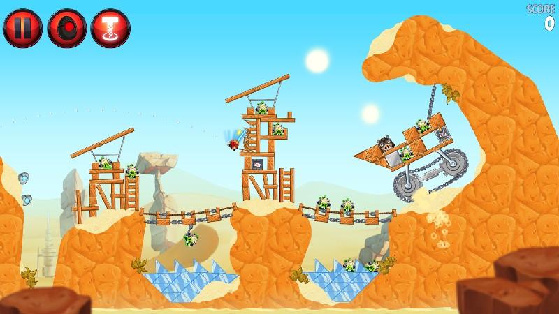 Angry Birds Star Wars II Free APK MOD imagen 1
