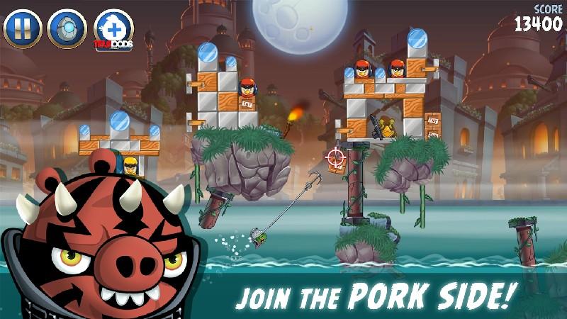 Angry Birds Star Wars II Free APK MOD imagen 3