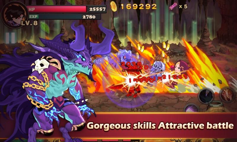 Brave Fighter Demon Revenge APK MOD imagen 3