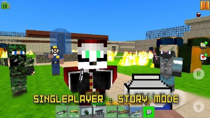 Cops N Robbers - FPS Mini Game APK MOD imagen 5