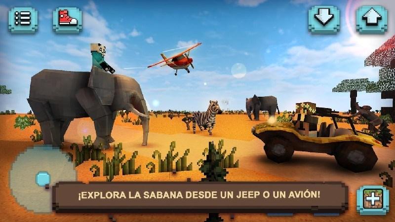 Savanna Safari Craft Animals APK MOD imagen 4