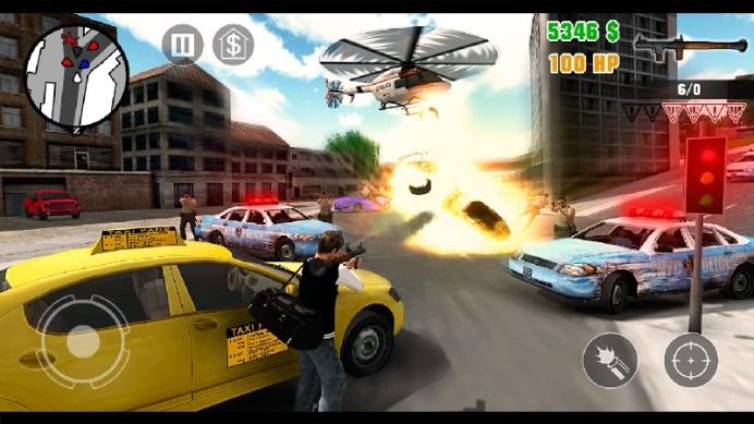 Clash of Crime Mad San Andreas APK MOD imagen 5