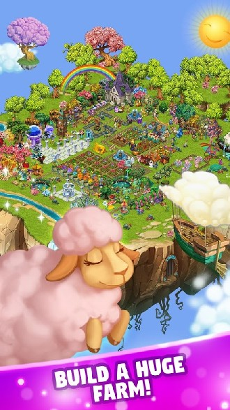 Fairy Farm - Games for Girls APK MOD imagen 3