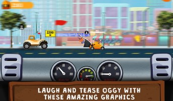 Oggy Go - World of Racing (The Official Game) APK MOD imagen 4