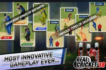 Real Cricket 18 APK MOD imagen 4
