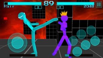 Stickman Fighting Neon Warriors APK MOD imagen 2