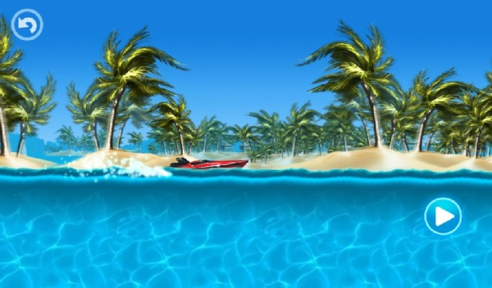 Tropical Island Boat Racing APK MOD imagen 5