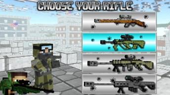 American Block Sniper Survival APK MOD imagen 1