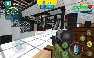 American Block Sniper Survival APK MOD imagen 4