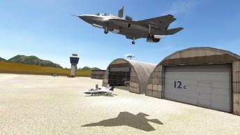 F18 Carrier Landing Lite APK MOD imagen 2