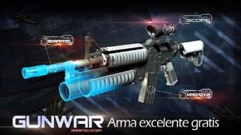 Gun War Shooting Games APK MOD imagen 4