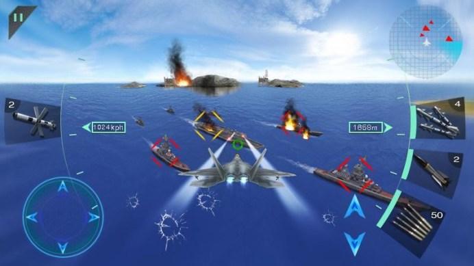 Sky Fighters 3D APK MOD imagen 5