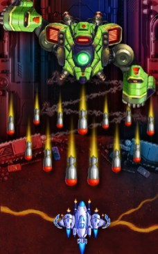 Space X Sky Wars of Air Force APK MOD imagen 1
