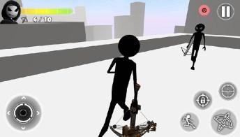 Stickman Crossbow APK MOD imagen 3