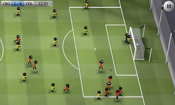 Stickman Soccer - Classic APK MOD imagen 5