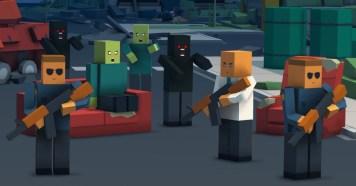 Zombie Craft Survival APK MOD imagen 1