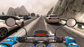 Traffic Rider APK MOD imagen 2