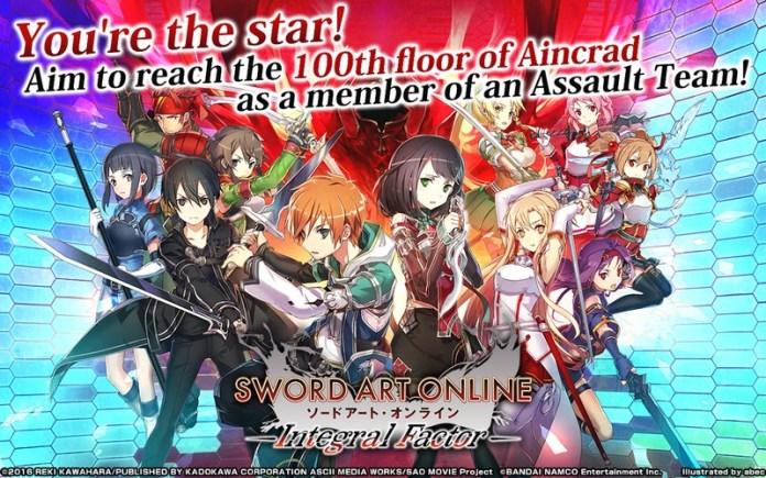 Sword Art Online Integral Factor APK MOD imagen 1