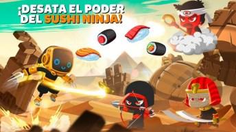 Ninja Dash - Ronin Jump RPG APK MOD imagen 4