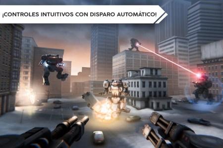 ROBOT WARFARE ONLINE APK MOD imagen 1