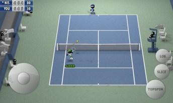 Stickman Tennis - Career APK MOD imagen 4