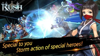 RUSH Rise up special heroes APK MOD imagen 4