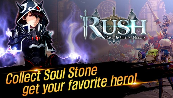 RUSH Rise up special heroes APK MOD imagen 5