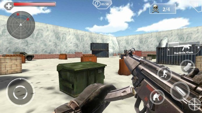 Shoot Hunter Gun Killer APK MOD imagen 5