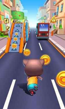 Cat Runner Decorate Home APK MOD imagen 1