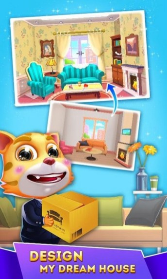Cat Runner Decorate Home APK MOD imagen 4