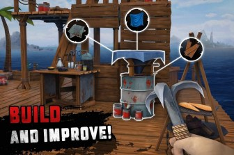 Survival on Raft Ocean Nomad - Simulator APK MOD imagen 4