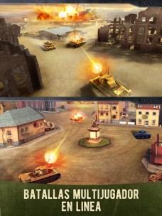 War Machines Tank Shooter Game APK MOD imagen 3